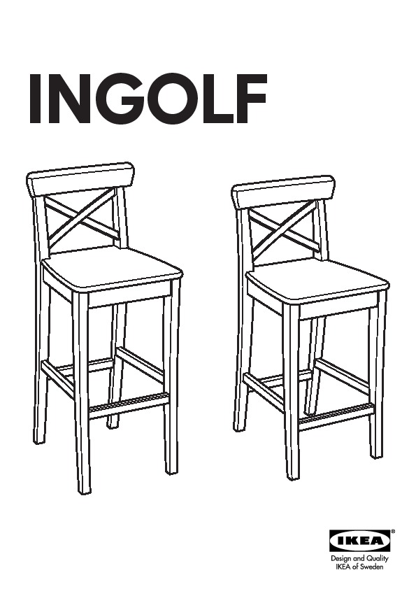 tabouret ikea ingolf. Black Bedroom Furniture Sets. Home Design Ideas