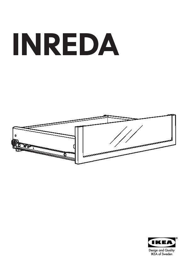 best inreda rangement tv av portes coulissantes brun noir ikea france ikeapedia. Black Bedroom Furniture Sets. Home Design Ideas