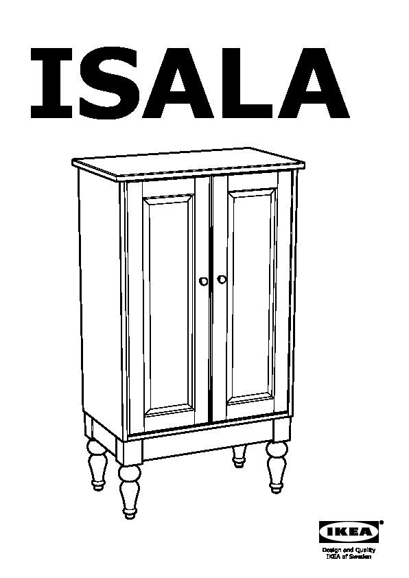 ISALA Cabinet white (IKEA United States) - IKEAPEDIA