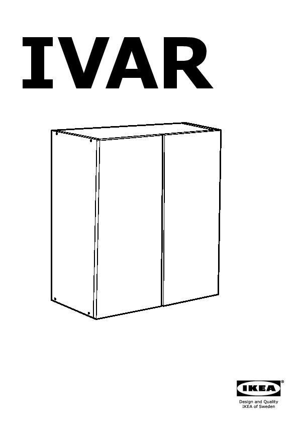 Ivar 2 Sectionsshelvescabinet Pine Ikea United States Ikeapedia