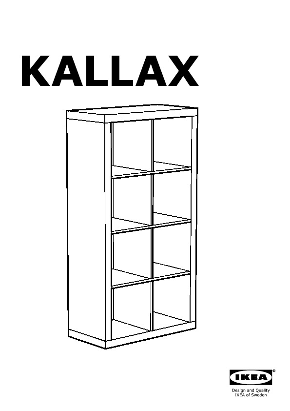 Kallax tag re avec portes blanc jaune ikea france for Porte kallax