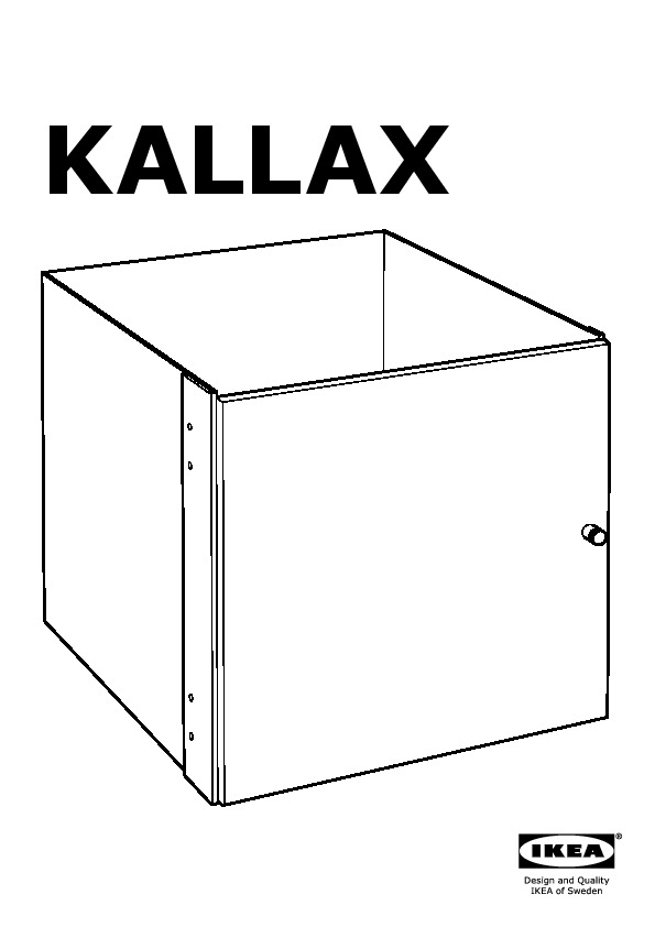 kallax insert with door white ikea canada english ikeapedia. Black Bedroom Furniture Sets. Home Design Ideas