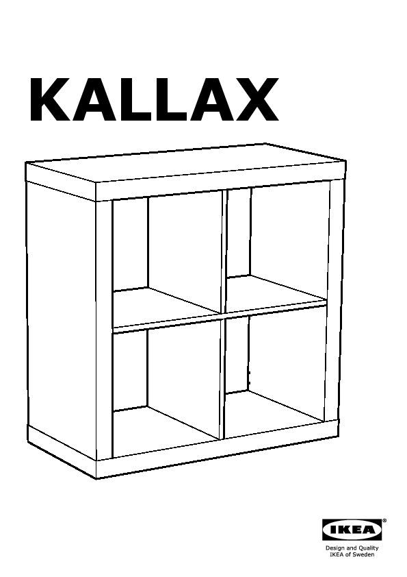 Kallax scaffale bianco ikea italy ikeapedia for Bureau kallax