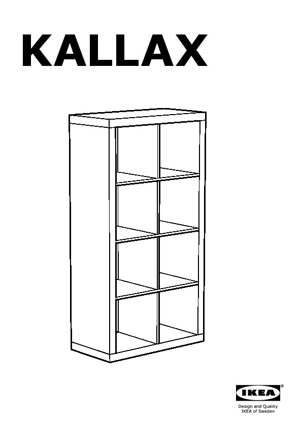 Kallax Shelving Unit Birch Effect Ikea United States Ikeapedia