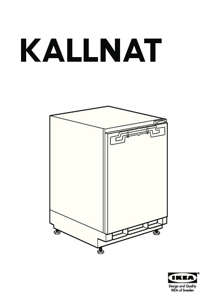 kallnat r frig rateur encastrable a blanc ikeapedia the ikea encyclopedia. Black Bedroom Furniture Sets. Home Design Ideas