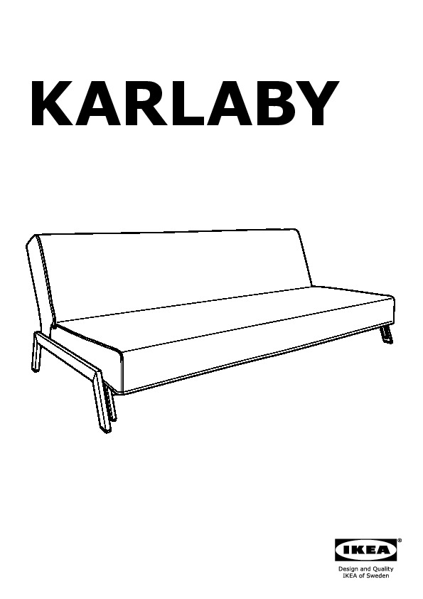 hagalund sofa bed instructions