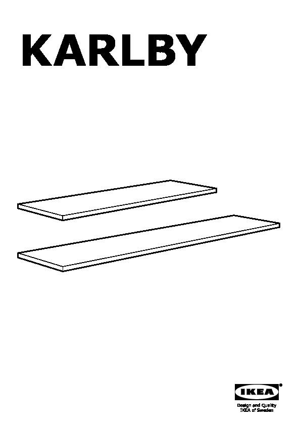Karlby piano di lavoro noce ikea italy ikeapedia - Ikea piano di lavoro ...