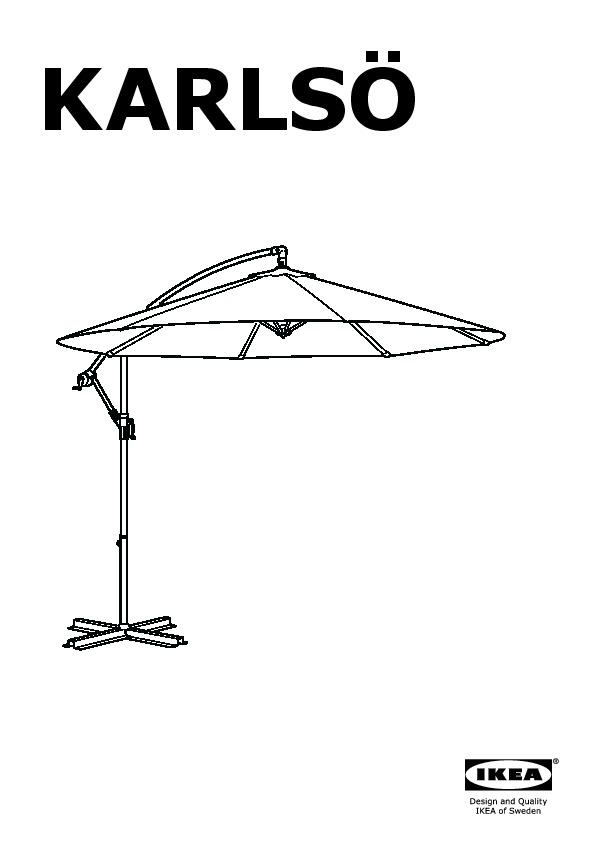 karls parasol d port beige ikea france ikeapedia. Black Bedroom Furniture Sets. Home Design Ideas