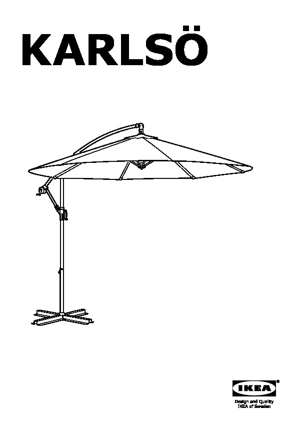 karls parasol d port beige ikea france ikeapedia. Black Bedroom Furniture Sets. Home Design Ideas
