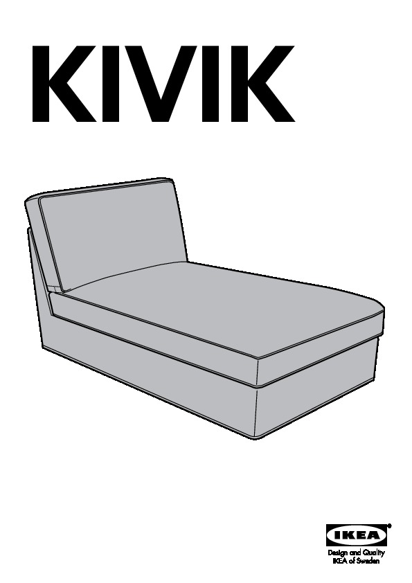 Ikea Kivik Chaise Lounge Google Search: KIVIK Chaise Cover (IKEA United States)