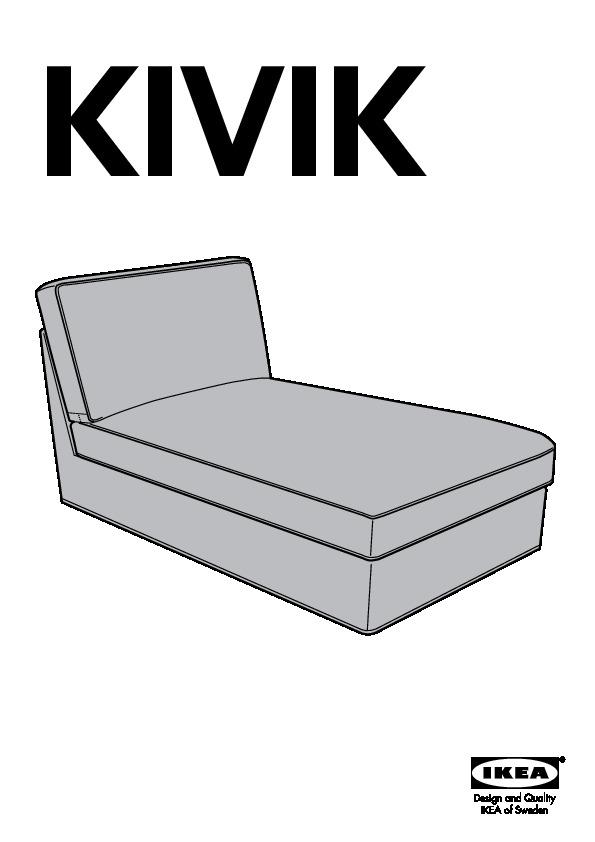 Kivik chaise cover ikea united states ikeapedia - Kivik canape ikea ...