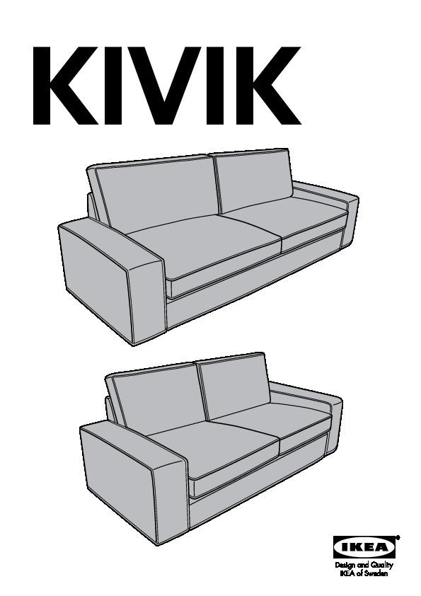 kivik canap en u 8 places isunda gris ikea canada. Black Bedroom Furniture Sets. Home Design Ideas