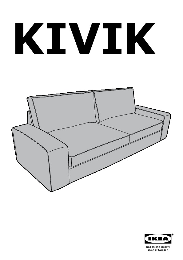 kivik convertible 3 places tullinge brun fonc ikea france ikeapedia. Black Bedroom Furniture Sets. Home Design Ideas