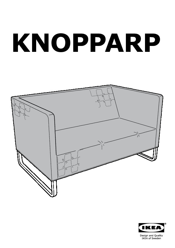 knopparp canap 2 places jaune vif ikea france ikeapedia. Black Bedroom Furniture Sets. Home Design Ideas