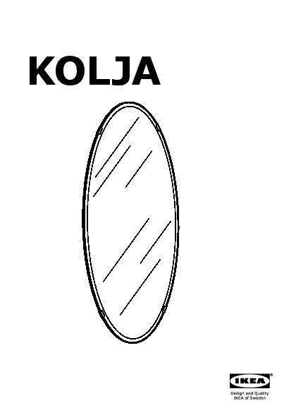 Kolja mirror oval ikea united states ikeapedia for Miroir kolja