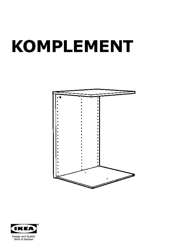 pax wardrobe frame instructions