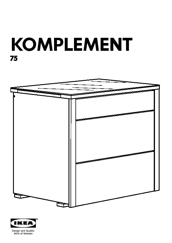 komplement l ments tiroirs brun noir ikea france ikeapedia. Black Bedroom Furniture Sets. Home Design Ideas