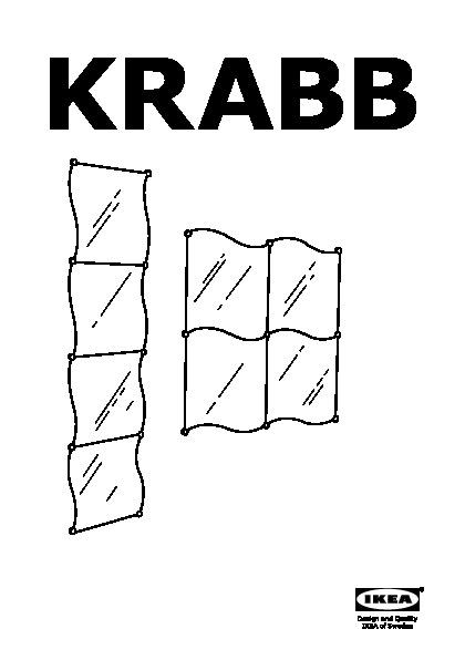 Krabb miroir ikea france ikeapedia for Miroir krabb ikea
