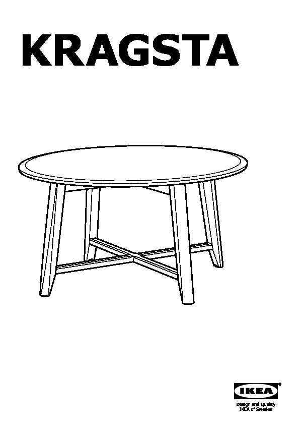 kragsta table basse noir ikea france ikeapedia. Black Bedroom Furniture Sets. Home Design Ideas