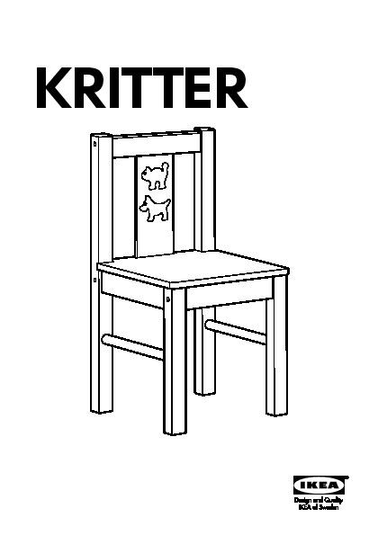 kritter chaise enfant jaune ikea france ikeapedia. Black Bedroom Furniture Sets. Home Design Ideas