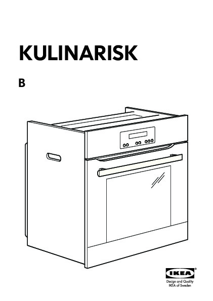 kulinarisk four air puls fonction pyrolyse acier inoxydable ikea france ikeapedia. Black Bedroom Furniture Sets. Home Design Ideas
