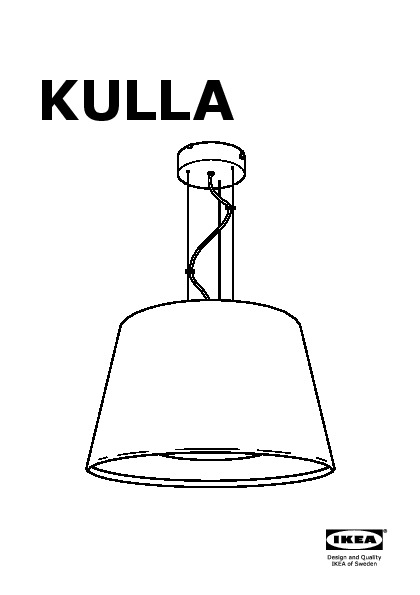 kulla suspension noir ikea france ikeapedia. Black Bedroom Furniture Sets. Home Design Ideas