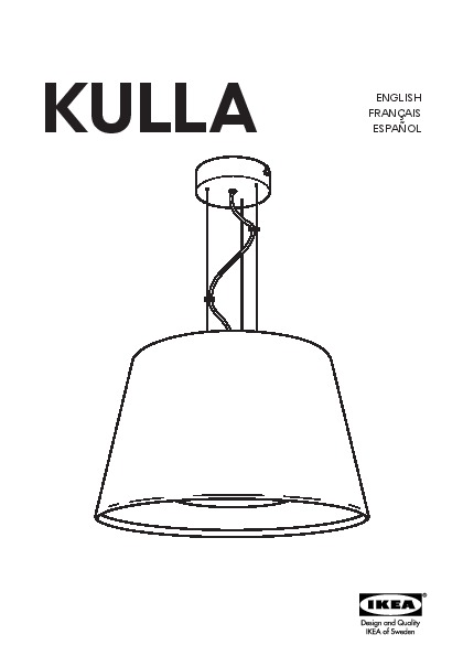 Kulla suspension noir ikea canada french ikeapedia - Lampe suspension ikea ...