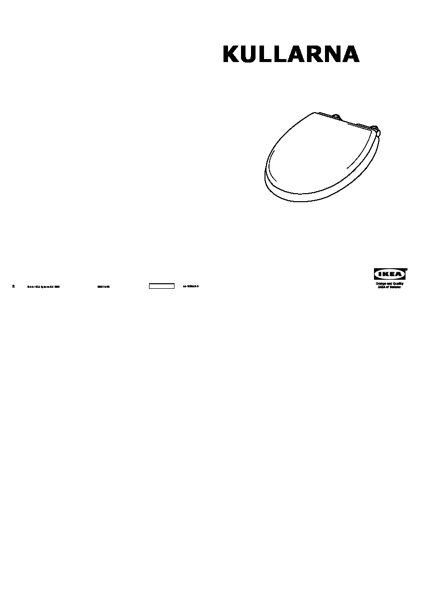 Kullarna Abattant Wc Blanc Ikea France Ikeapedia