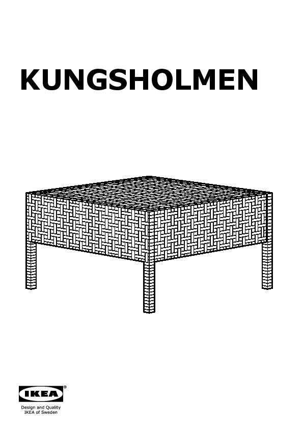 KUNGSHOLMEN stool, outdoor