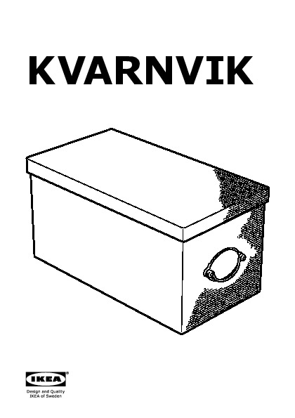 kvarnvik bo te avec couvercle gris ikea france ikeapedia. Black Bedroom Furniture Sets. Home Design Ideas