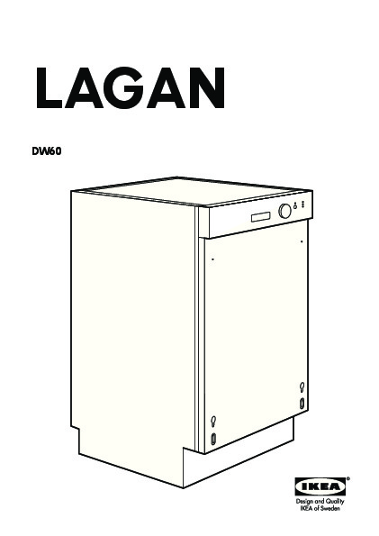 lagan dw60 lave vaisselle encastrable blanc ikea france ikeapedia. Black Bedroom Furniture Sets. Home Design Ideas