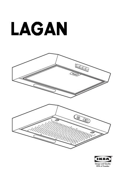 Lagan Hotte Aspirante Murale Acier Inoxydable (Ikea France) - Ikeapedia