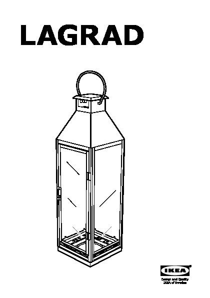 lagrad lanterne pour bougie bloc int ext couleur argent. Black Bedroom Furniture Sets. Home Design Ideas