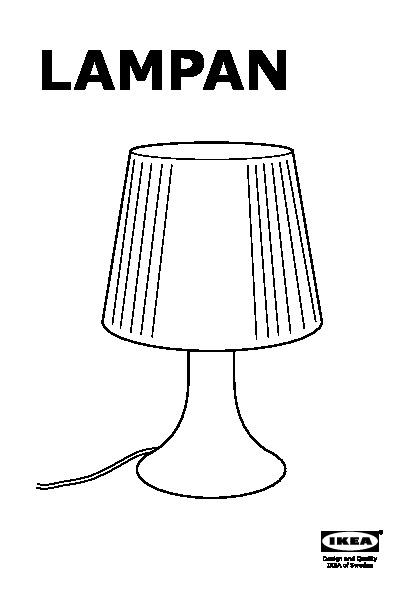 Lampan Lampada Da Tavolo Color Oro Ikeapedia