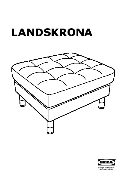 Pleasing Landskrona Footstool Grann Bomstad Black Metal Ikea United Creativecarmelina Interior Chair Design Creativecarmelinacom
