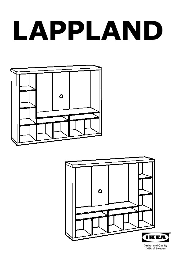 lappland meuble tv blanc ikea france ikeapedia. Black Bedroom Furniture Sets. Home Design Ideas