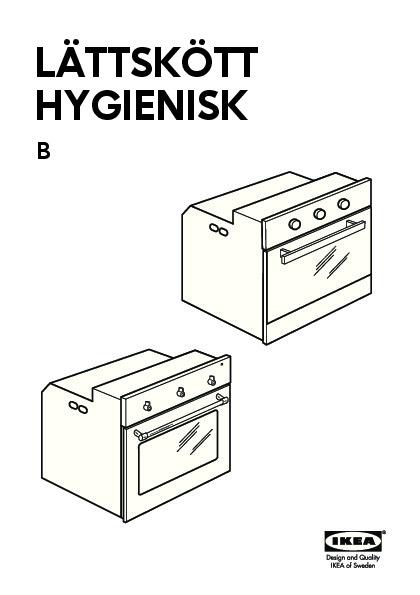 l ttsk tt four air puls fonction pyrolyse acier inoxydable ikea france ikeapedia. Black Bedroom Furniture Sets. Home Design Ideas