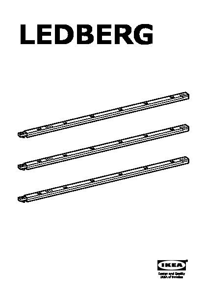 ledberg baguette lumineuse led blanc ikea france ikeapedia. Black Bedroom Furniture Sets. Home Design Ideas