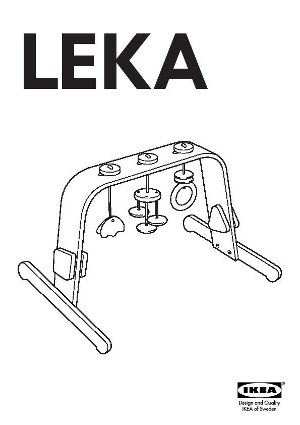 leka portique b b bouleau multicolore ikea france ikeapedia. Black Bedroom Furniture Sets. Home Design Ideas