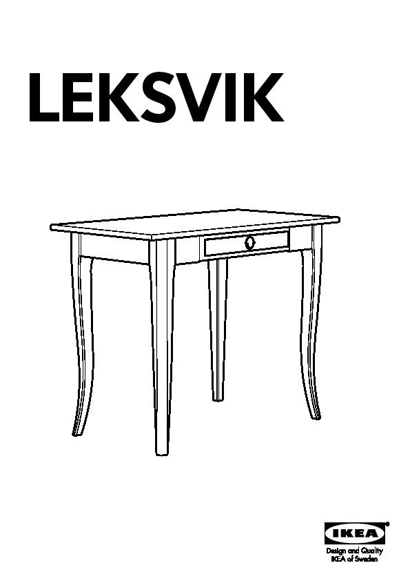 Ikea Leksvik Bureau.Leksvik Bureau Noir Ikea France Ikeapedia