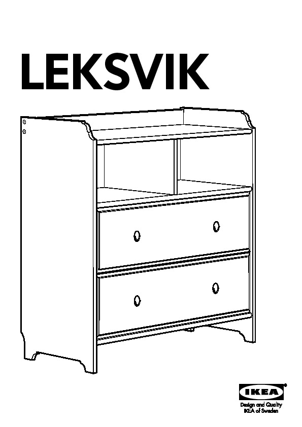 Effet Commode Leksvik Vernis FranceIkeapedia Tiroirs Ancikea 2 mON80wvn