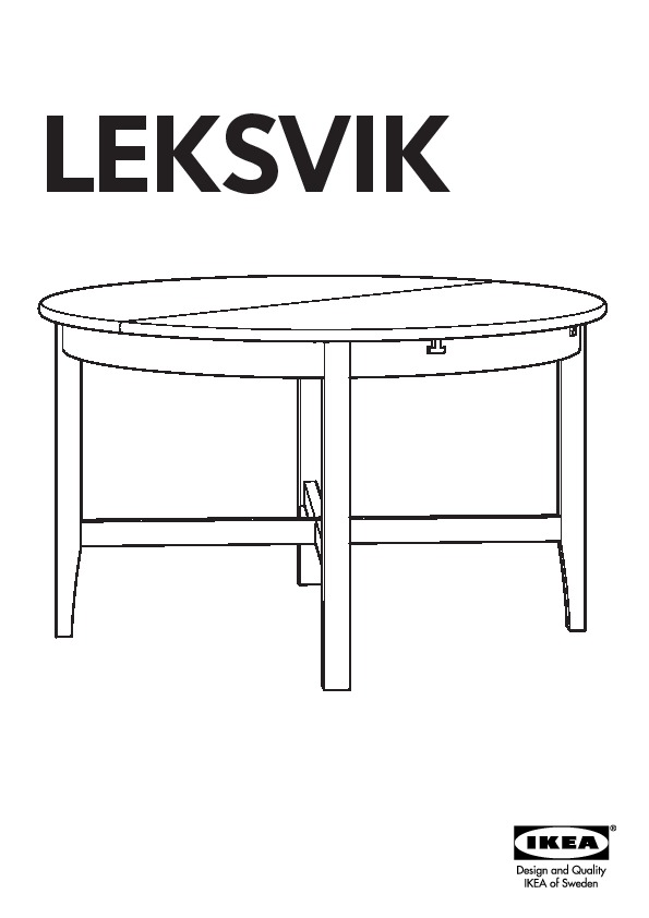 Leksvik Table Vernis Effet Anc Ikea France Ikeapedia