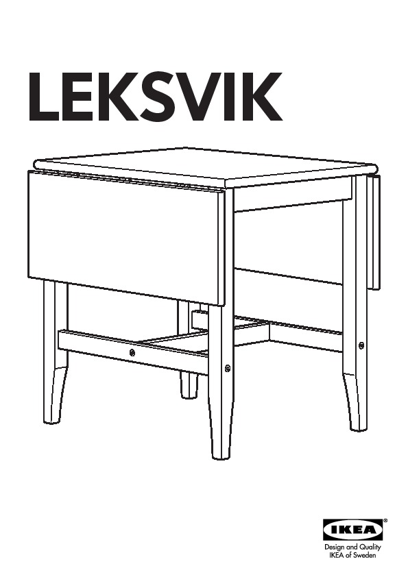 leksvik table rabat vernis effet anc ikea france ikeapedia. Black Bedroom Furniture Sets. Home Design Ideas