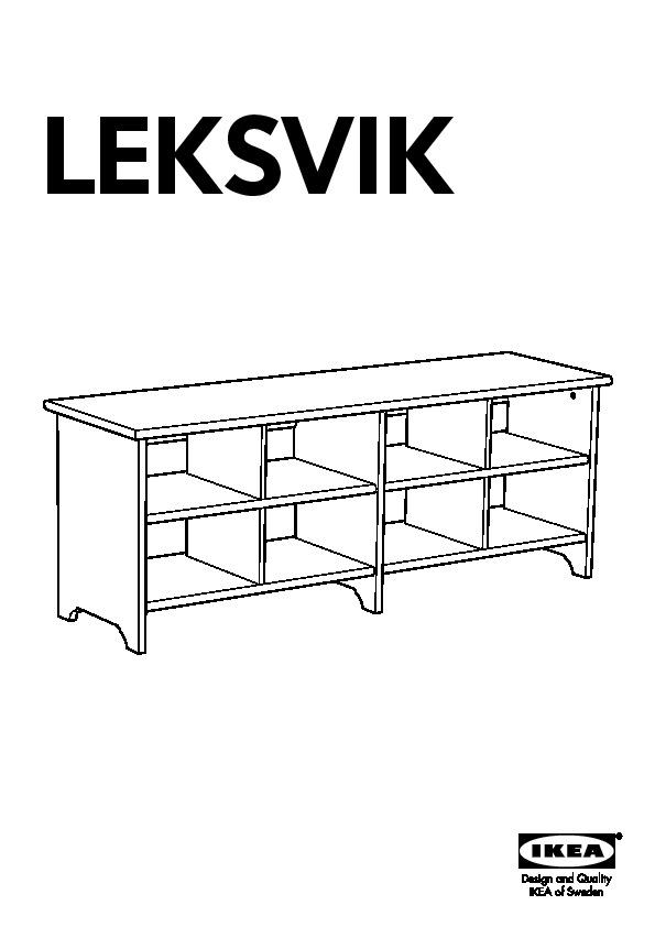 Leksvik étagère à Chaussures Vernis Effet Anc Ikea France Ikeapedia