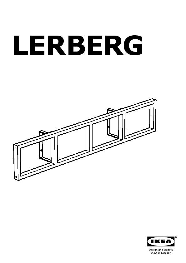 Lerberg Cd Dvd Wall Shelf White Ikea Canada English Ikeapedia