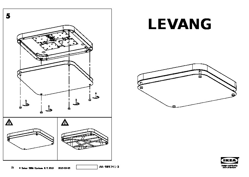 Gallery of levang plafoniera a led with plafoniere ikea - Plafoniere ikea catalogo ...