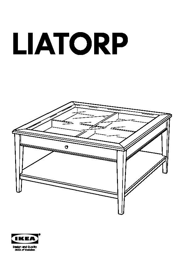 Liatorp Coffee Table Grey Glass Ikea United Kingdom Ikeapedia