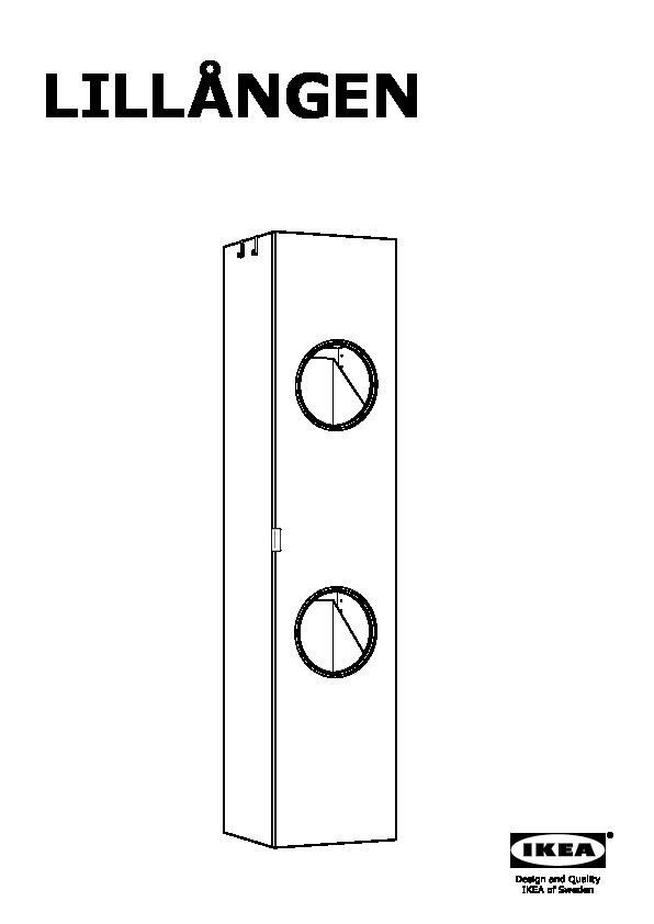 Lillangen Armoire Lingere Blanc Ikea Switzerland Ikeapedia