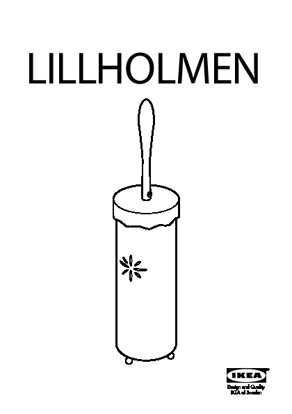lillholmen brosse pour wc ikea france ikeapedia. Black Bedroom Furniture Sets. Home Design Ideas