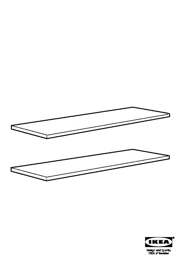 LILLTRÄSK Plan De Travail Blanc (IKEA France)